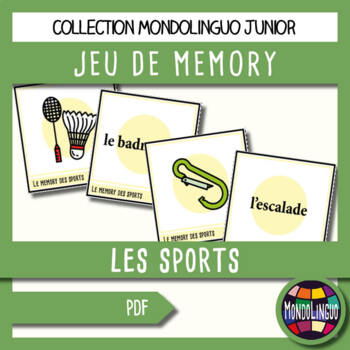 French/FFL/FSL - Games - Memory - Sport