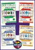 French/FFL/FSL - Games - Seven Families - Pack 4 games