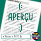 French/FFL/FSL - Activity book + MP3 - Barbe-Noire