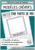 French/FFL/FSL - Templates - 10 selfies to draw