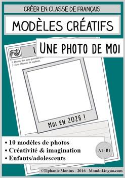 French/FFL/FSL - Templates - 10 selfies to draw