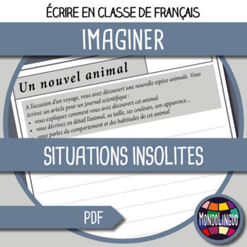 French/FFL/FSL - Writing - 10 special situations
