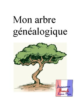 French Family Tree Project Packet