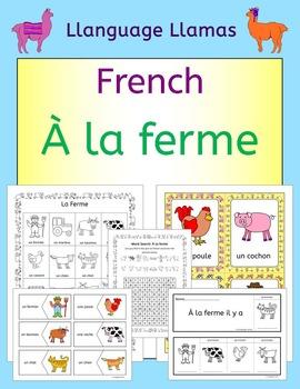 French Farm and Farm Animals Vocabulary - À La Ferme
