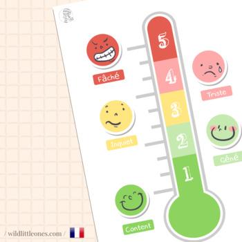 The Feelings Thermometer ⎜ Le thermomètre des émotions en