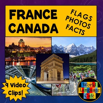 French Flag, Canadian Flag, Photos, Facts, Video Clips, Fr