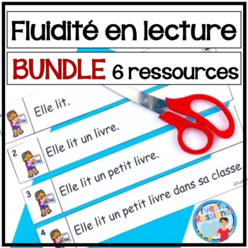 French Fluency Phrases (BUNDLE) Cahier interactif, atelier