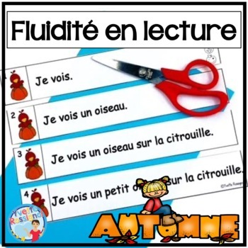 French Fluency Phrases (L'automne) Cahier interactif, flui
