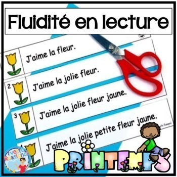 French Fluency Phrases (Le printemps) Cahier interactif, f