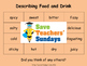 French Food, Drink and Colors Unit (6 lessons) - All lesso