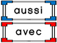 French Francais Word Wall Sight Word Cards with Header