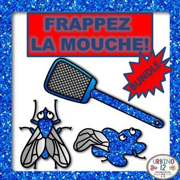 French Frappez la Mouche! Game BUNDLE