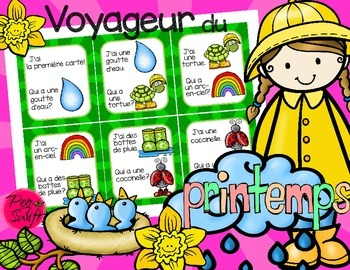 French Game ~ Voyageur du printemps J'ai...Qui a?