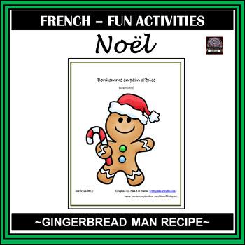 French - Gingerbread Man recipe - Bonhomme en pain d'épice