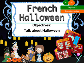 French Halloween PPT for beginners