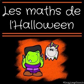 C'est l'halloween! // French Halloween Math