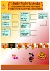 French Halloween booklet for beginners/pre-intermediate