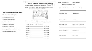 French House and Possessive Assessments