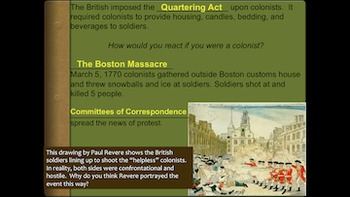French & Indian War and Events Leading to the Revolutionar
