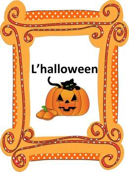 French: L'halloween, Cartes éclairs & activités, French Co
