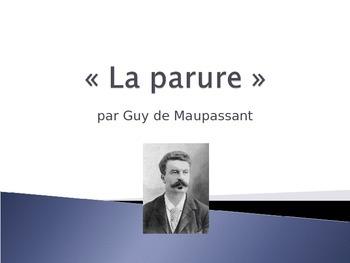 French - La parure - The Necklace - Maupassant