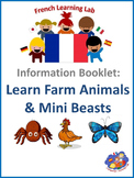 French Information booklet - Farm Animals & Mini Beasts -