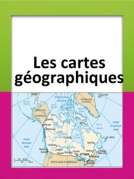 French: Les cartes géographiques, Cartes éclairs, French I