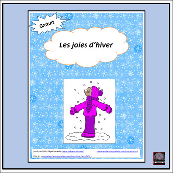 French – Les joies d'hiver – Winter Activities
