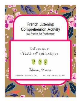 French Listening Comprehension for 1jour1actu video: l'éco