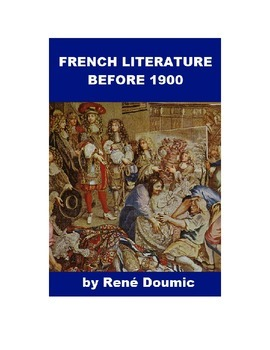 French Literature before 1900