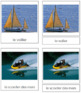 French - Marine Transportation Cards