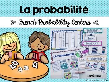 French Probability Centers (Centres) La probabilité