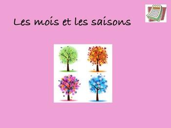 French Months and Seasons (les mois et les saisons)