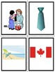 French Months of the Year and Holiday Flash Cards