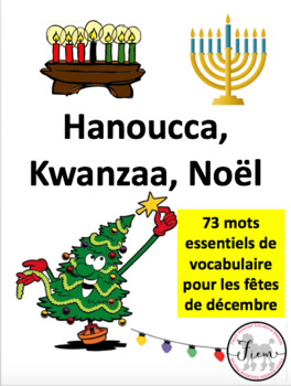 French: Noël, Hanoucca, Kwanzaa, Cartes éclairs, French Co