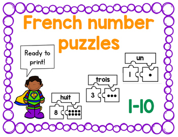 French Number Puzzles