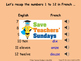 French Numbers 13-31 Lesson plan, PowerPoint (with audio),