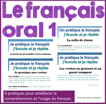 French Oral Practice-Une pratique orale: Ensemble 1 le fra