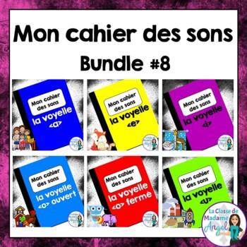French Phonics Activities Bundle #8:  Mon cahier des sons