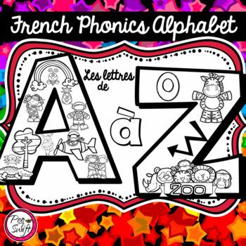 French Phonics Alphabet