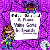 French Place Value Game using Base 10 blocks - J'ai. . . Q