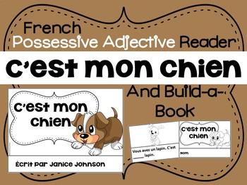 French Possessive Adjective Reader & Build-A-Book #2 ~ C'e