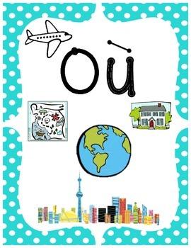 French Posters - Qui Quoi Quand Où Pourquoi