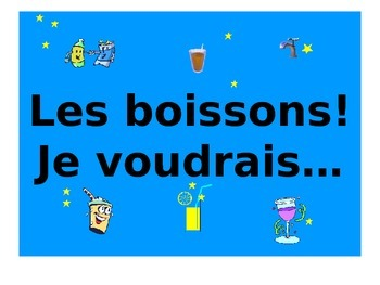 French Teaching Resources. PowerPoint Presentation: Drinks