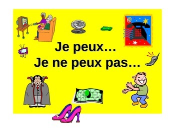 French Teaching Resources. PowerPoint: What you are allowe