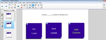 French Preposition Review Game - Jeu de révision des prépositions