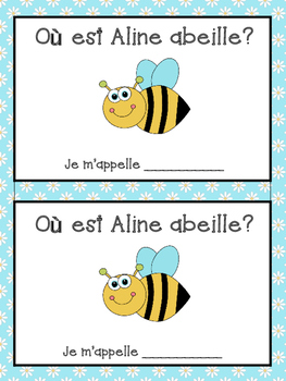 French Prepositions Bundle- Student Vocab, Word Wall Visua