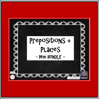 (French) Prepositions + Places MINI BUNDLE