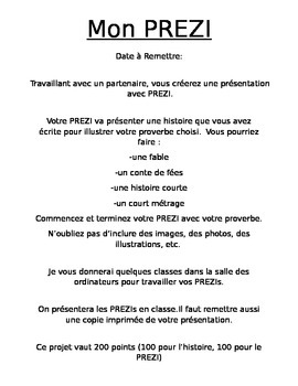 French Proverb PREZI