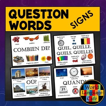 French Question Words, Interrogatives Signs